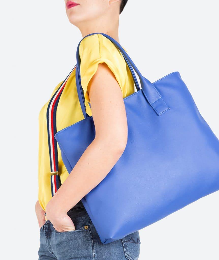 Big shopper Figus eco bluette