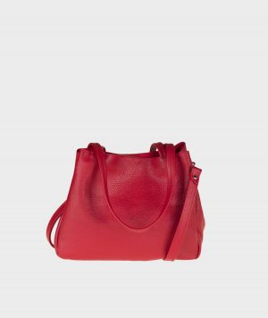 Sacca Soft Figus pelle rosso